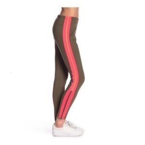 Free People Dale Track Leggings Striped Zip Leg
